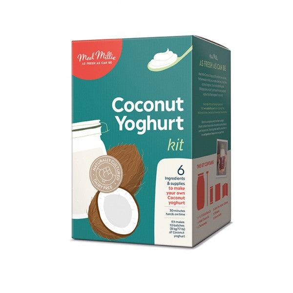 Coconut Yoghurt Kit (dairy free) (O/S from suppliers)