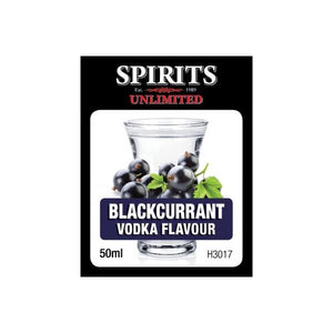 Spirits Unlimited Fruit Vodka Blackcurrant