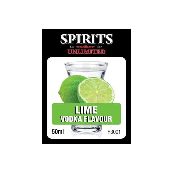 Spirits Unlimited Fruit Vodka Lime