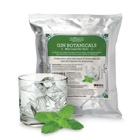 Still Spirits Gin Botanicals -Mint Leaf