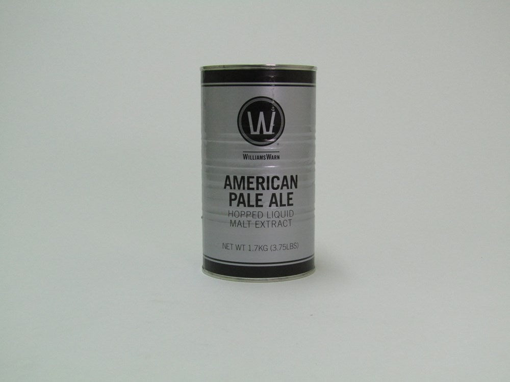 WilliamsWarn American Pale Ale ***yeast to be purchased separately