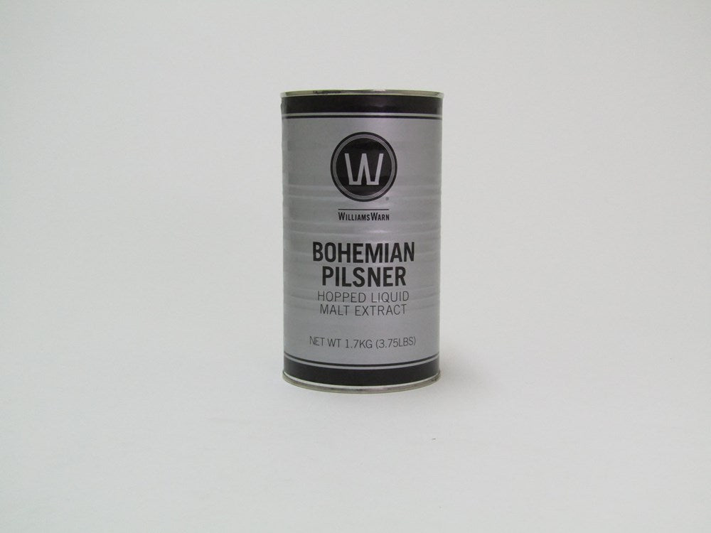WilliamsWarn Bohemian Pilsner ***yeast to be purchased separately