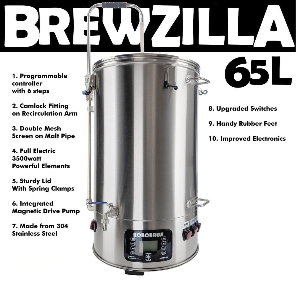 Robobrew Brewzilla 65L (ordered in)
