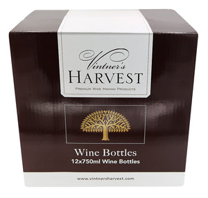 750ml Wine Bottle: Case of 12