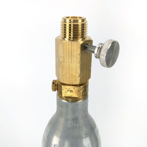 Soda Stream CO2 Adapter - Deluxe With Pin Adjustment