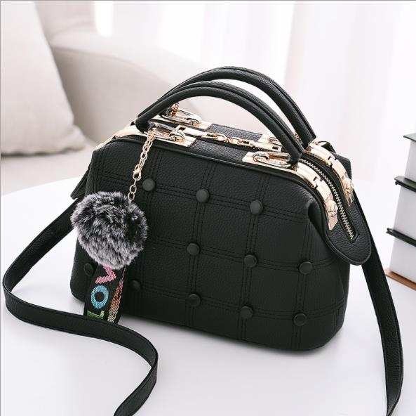 Rectangle Button Handbag