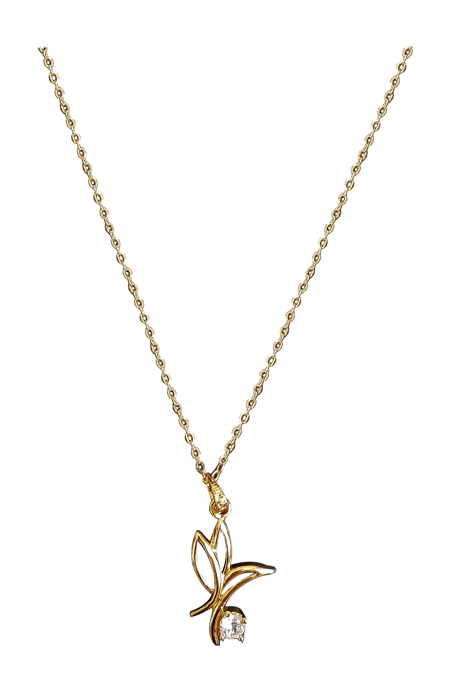 Butterfly Pendant Necklace - Vlure