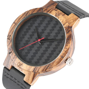 Watches Men Fashion Wooden Weave Contexture Design Bamboo Quartz Watch 2017 Casual Unisex Wristwatches Leather Relogio Masculino