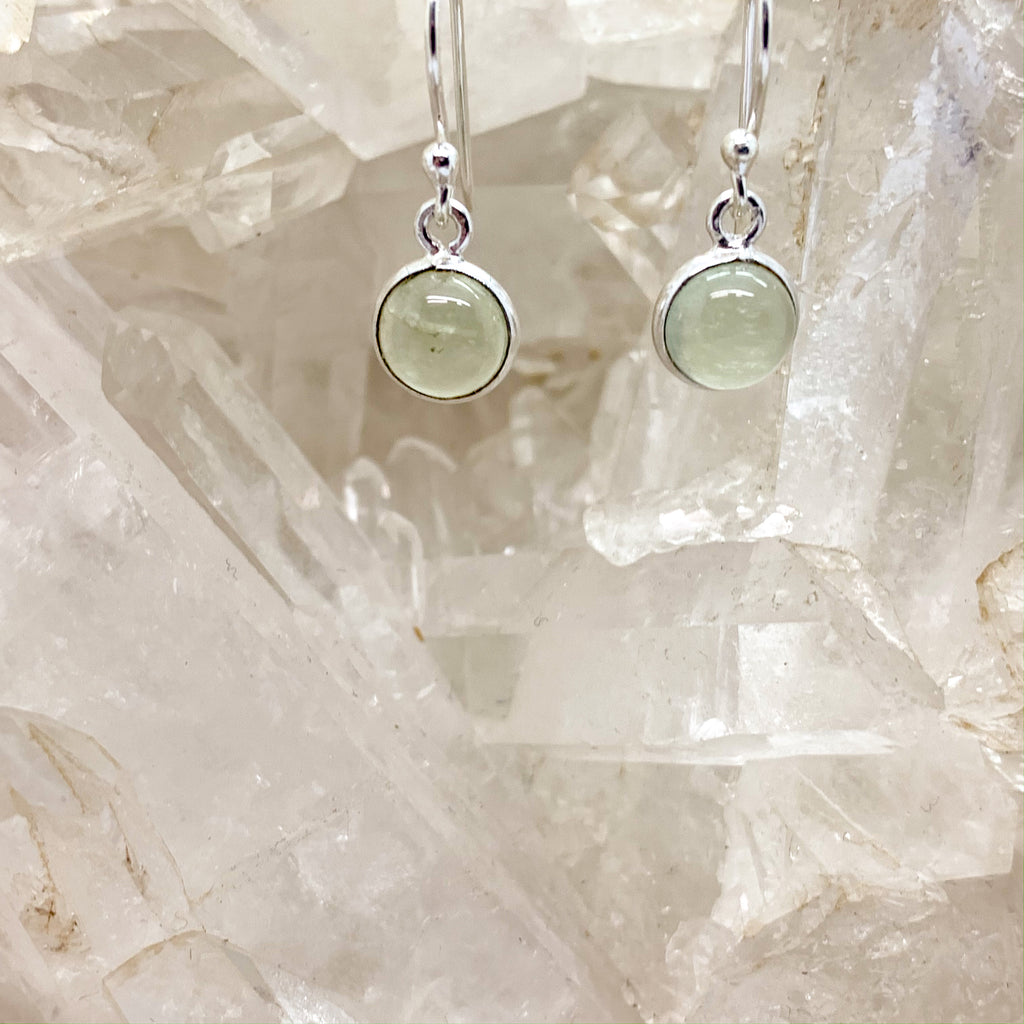 Prehnite Earrings $30