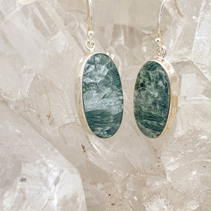Seraphinite Earrings $68