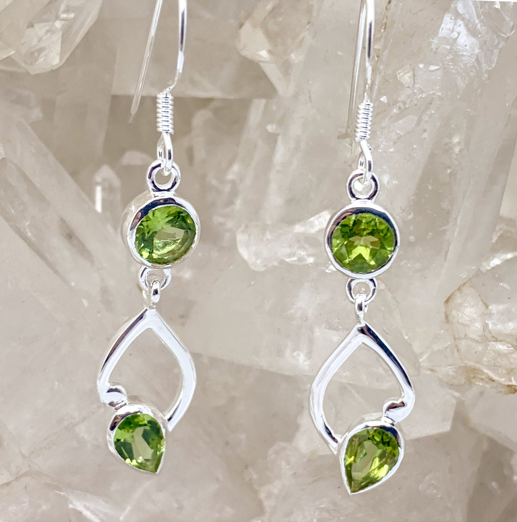Peridot Earrings $85