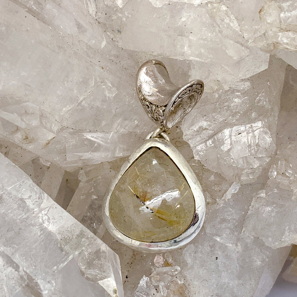 Rutilated Quartz Pendant $72