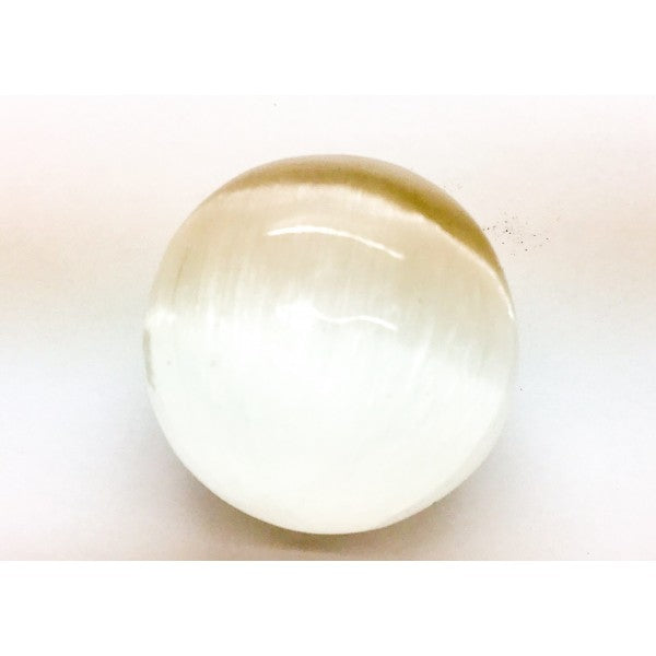 Selenite Ball $85