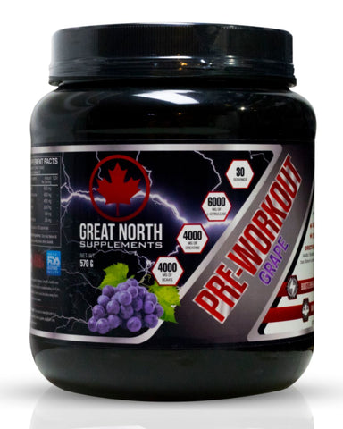 Pre-Workout Grape
