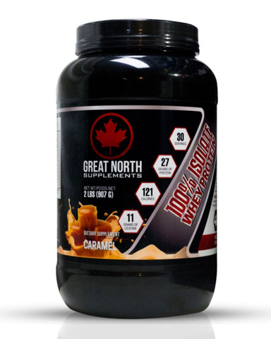 100% Isolate Whey Protein Caramel