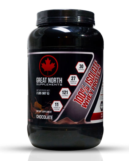 100% Isolate Whey Protein Chocolate