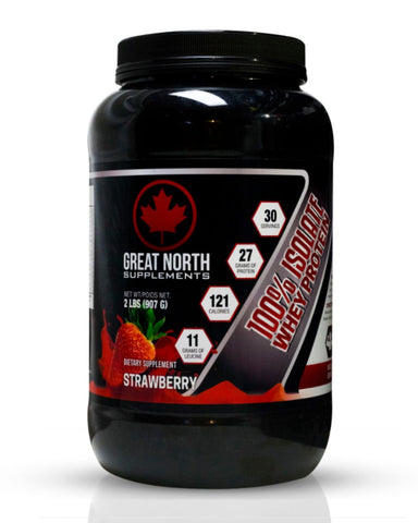 100% Isolate Whey Protein Strawberry