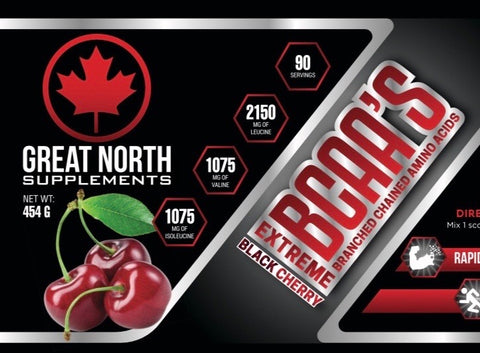 BCAA Extreme Black Cherry