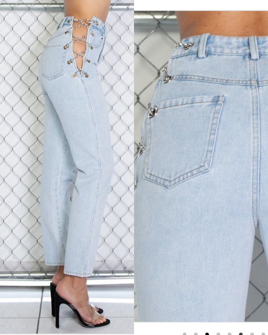 Side Chain Jeans