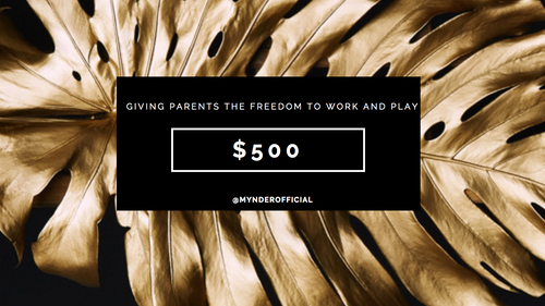 GOLD DEAL Mynder $500 Gift Card