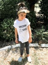 Load image into Gallery viewer, Unicorn Babe Toddler Tee