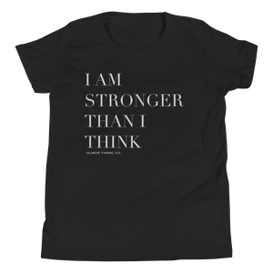 Stronger Than I Think Kids Tee