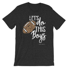 Load image into Gallery viewer, 'Let's Do This Boys' Leopard Football Tee