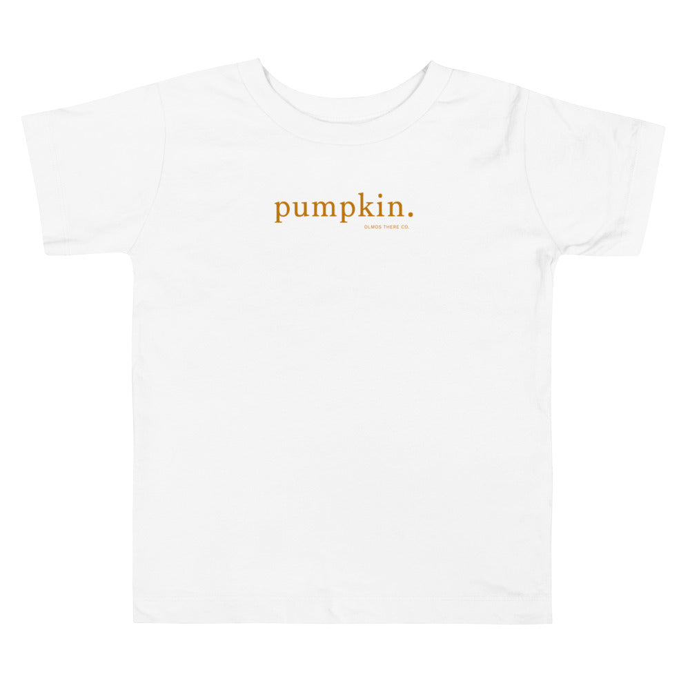 Pumpkin Toddler Unisex Tee