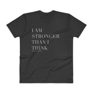 Stronger Than I Think Unisex V-Neck