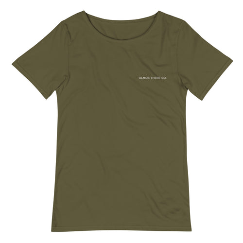 OLMOS THERE CO. Original Men's Raw Neck Tee