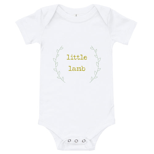 'Little Lamb' Gender Neutral Onesie