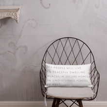 Load image into Gallery viewer, 'Peaceful Dwelling Places' Pillow