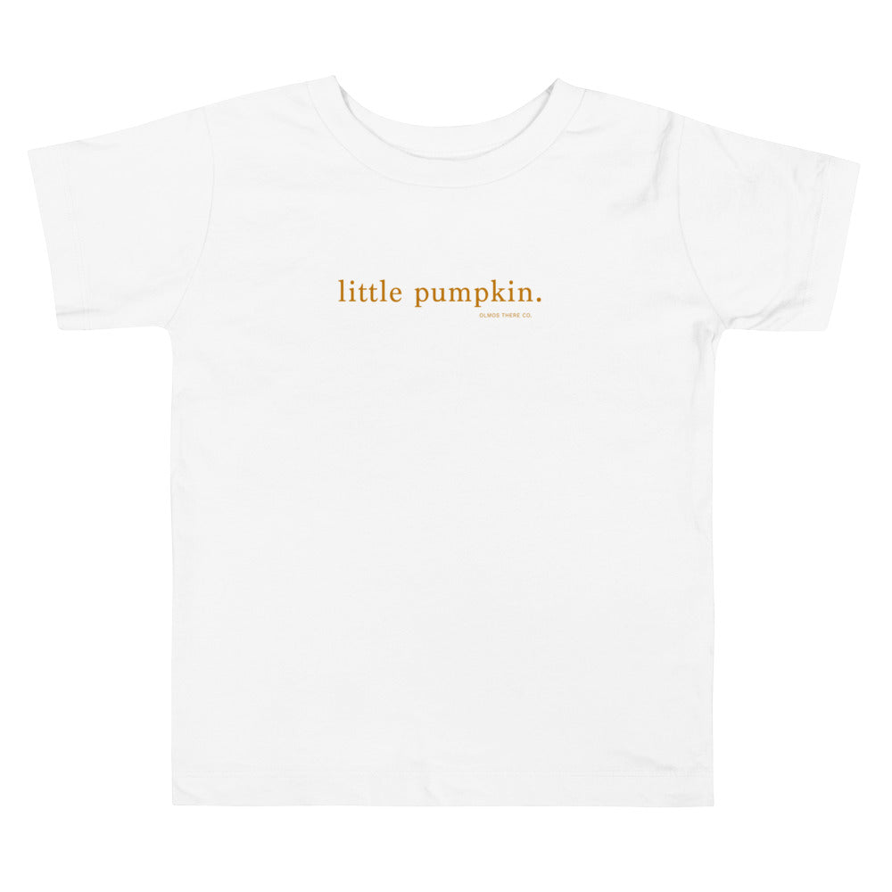 Little Pumpkin Unisex Toddler tee