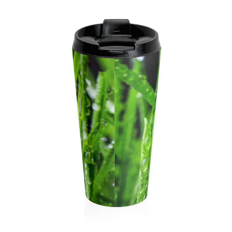 Green Life Stainless Steel Travel Mug