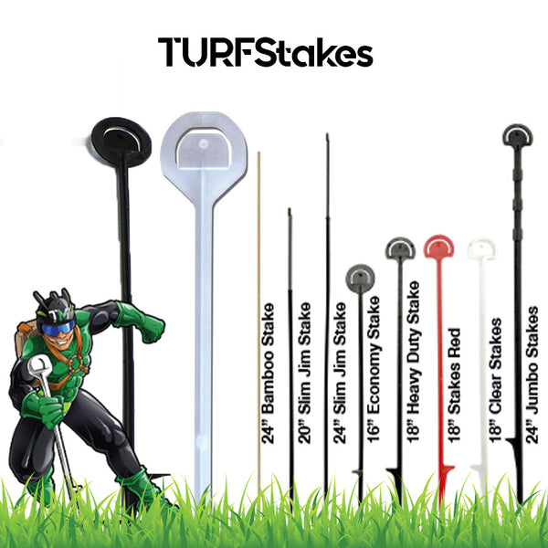 Turfstakes - property of Turfbrands