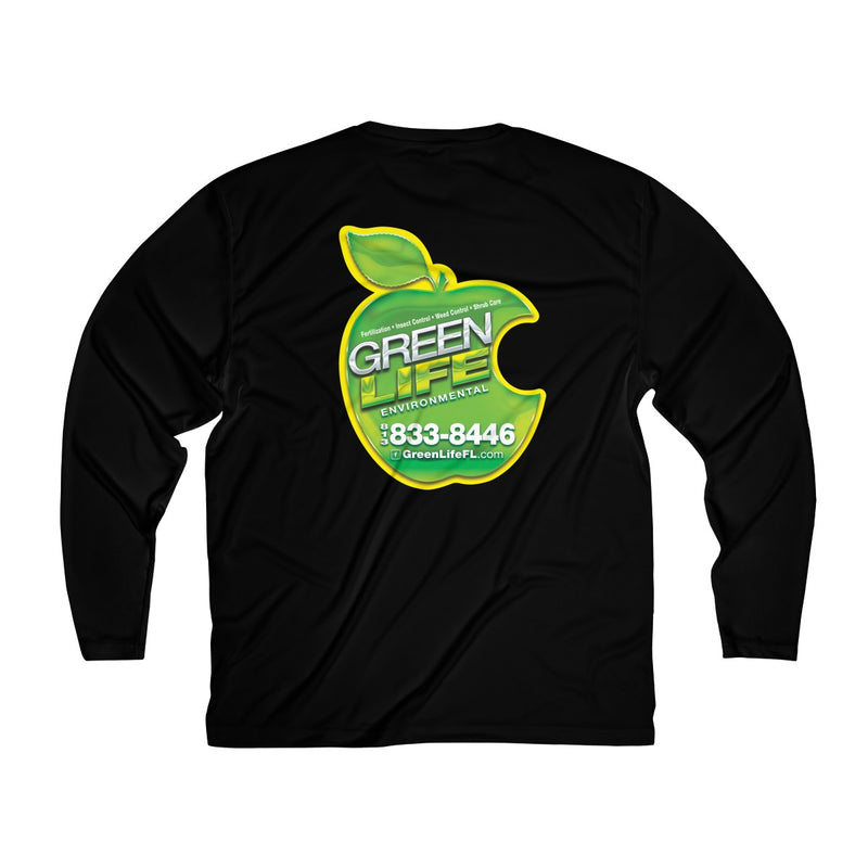 Green Life Men's Long Sleeve Moisture Tee