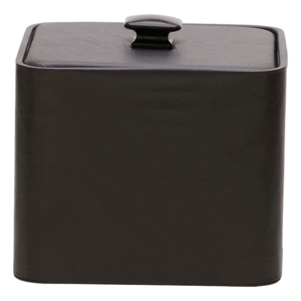 3 QUART LEATHER SQUARE GLAMOUR COLLECTION ICE BUCKET WITH LID (EACH) (12/CS)