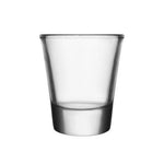 BARCONIC® 1.5 OZ CLEAR THICK BASE SHOT GLASS | CASE 72