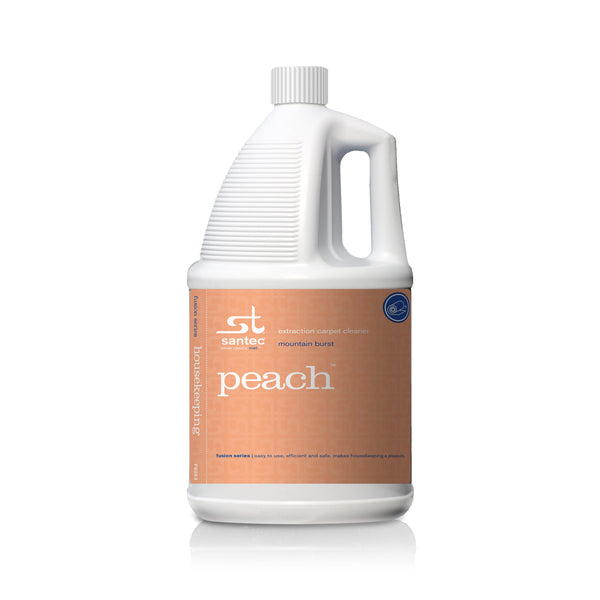 FUSION PEACH / EXTRACTION CARPET CLEANER / GALLON (4/CASE)