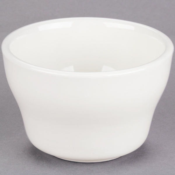 7.25 OZ. IVORY (AMERICAN WHITE) ROLLED EDGE STONEWARE BOUILLON CUP (36/CS)