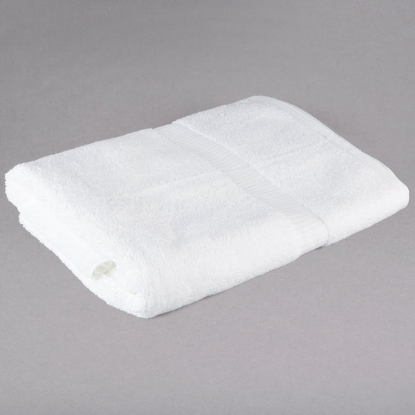 BATH TOWEL / OXFORD BELLEZA / 27 X 54 / 15.0 LB / WHITE (DOZEN) (3/CS)
