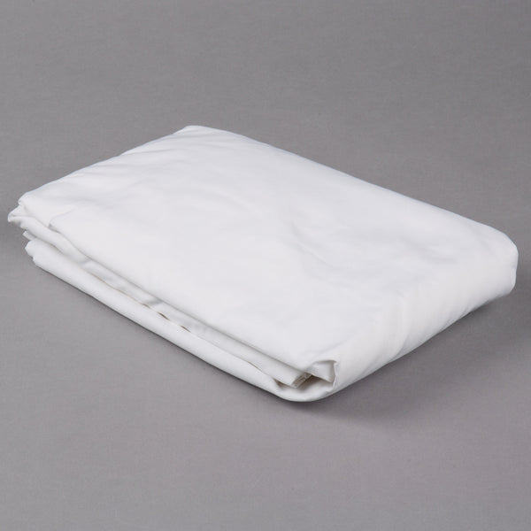 "GANESH OXFORD SUPER DELUXE T-300 FITTED SHEETS W/ 15"" POCKETS KING 78X80X 15 65% COTTON 35% POLYESTER WHITE (DOZEN)"