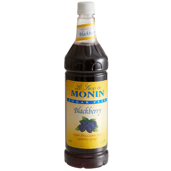 BLACKBERRY SUGAR FREE / MONIN / 1 LITER / (4/CS)