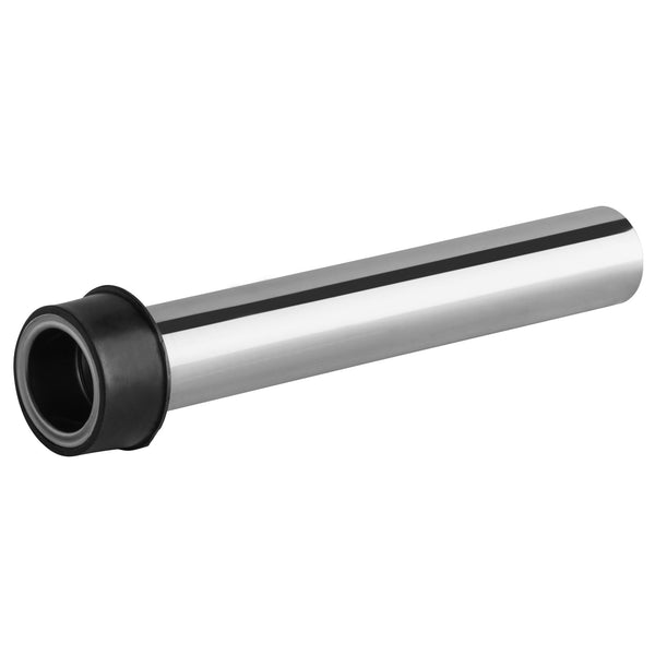 "SINK DRAIN EXTENSION / REGENCY 8"" STAINLESS STEEL OVERFLOW PIPE FOR 1 1/2"" DRAINS"