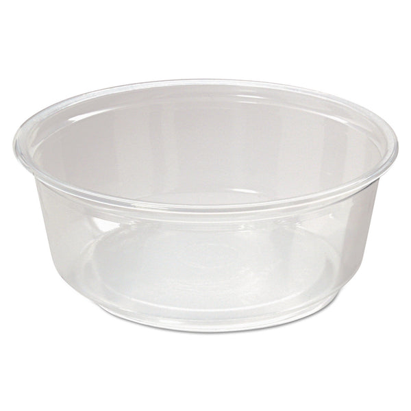 FABRIKAL 8 OZ MICROWAVABLE DELI CONTAINER (50/10/500)