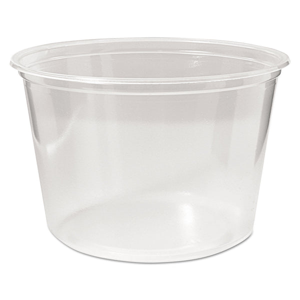 FABRIKAL 16 OZ MICROWAVABLE DELI CONTAINER (50/10/500)
