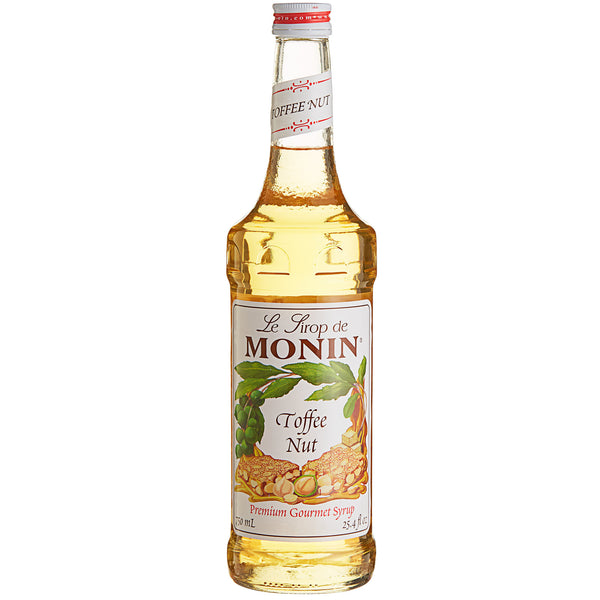 MONIN 750 ML PREMIUM TOFFEE NUT FLAVORING SYRUP