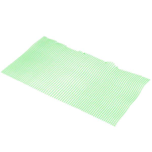 PLASTIC MESH BAR MAT / SHELF LINER / GREEN / 1 FOOT LENGTH