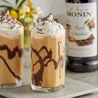 CHOCOLATE, DARK / MONIN / 1 LITER / (4/CS)
