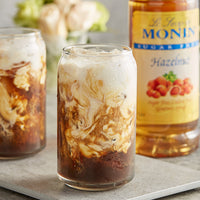 HAZELNUT SUGAR FREE / MONIN / 1 LITER / (4/CS)